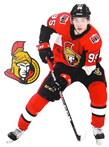 Matt Duchene Mini FATHEAD Graphic + Ottawa Senators Logo Official NHL Vinyl Wall Graphics - This Graphic is 7