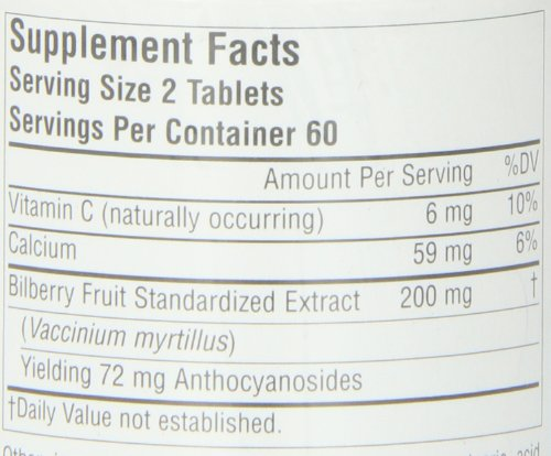 Source Naturals Bilberry Extract 100mg, Standardized Botanical Antioxidant, 120 Tablets by Source Naturals (Image #1)