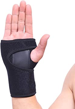 VITTO Muñequera Soporte Férula Muñeca Mano para la Artritis | Túnel Carpiano | Tendinitis (M, Izquierda): Amazon.es: Salud y cuidado personal