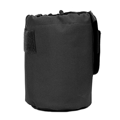 More buying choices for Large Collapiable Roll Up MOLLE Dump Pouch for Ammo, Brass, Magazines, Shells, and Misc Gear (Pouch Brass)