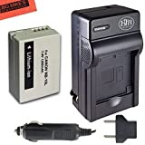 Battery & Charger Kit Canon PowerShot SX40 SX50 HS G15 G1 X Digital Camera Includes NB-10L Battery + AC/DC Battery Charger + LCD Screen Protectors + Micro Fiber Cleaning Cloth + Table Top Tripod