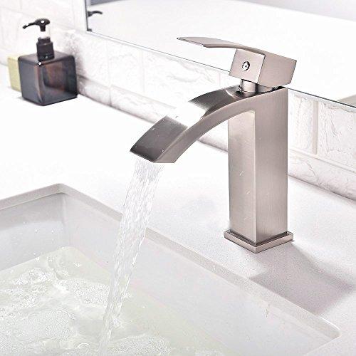 Friho Single Handle Waterfall Bathroom Vanity Sink Faucet With Import It All