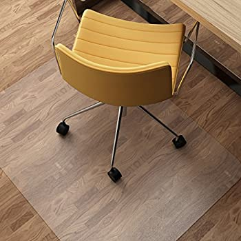 Chair Mat For Hard Floors, SLYPNOS Transparent Hard Floor Protector With  Non Studded Bottom, BPA And Phthalate Free, Floor Mats For Office Home, ...
