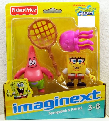 Fisher Price – Imaginext – Exclusive Spongebob Squarepants – Spongebob & Patrick Mini Figures – 62993