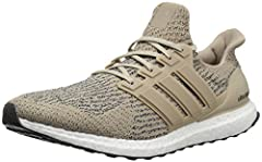 Find the right rhythm and pick up the pace in these men's running shoes. Designed with the energy-returning power of boost, they feature an adidas primeknit upper that hugs your foot. A lightweight outsole adds stability as you hit your strid...
