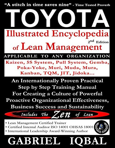 TOYOTA Illustrated Encyclopedia of Lean Management: An Internationally Proven Practical Step by Step Training Manual for