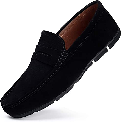 HKR Mens Loafers Slip On Driving Shoes