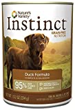 Nature's Variety Instinct Grain Free Canned Dog Food – Duck – 13.2 oz – 12 ct For Sale