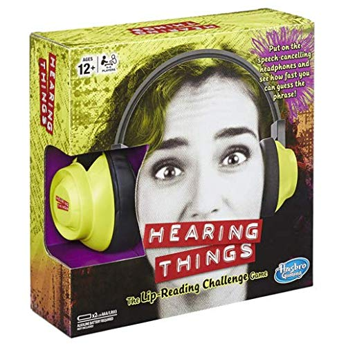 Hasbro Gaming Hearing Things Game Lip Reading Challenge Party - The Of Game Things