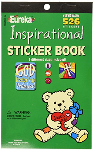 Eureka Inspirational Sticker Book -