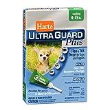 Hartz Ultra Guard Plus Drops For Dogs 4-15 Lbs. by HARTZ