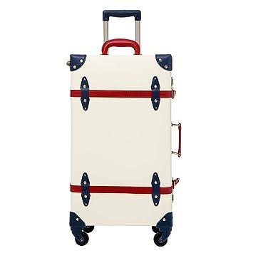 vintage style luggage Hardside