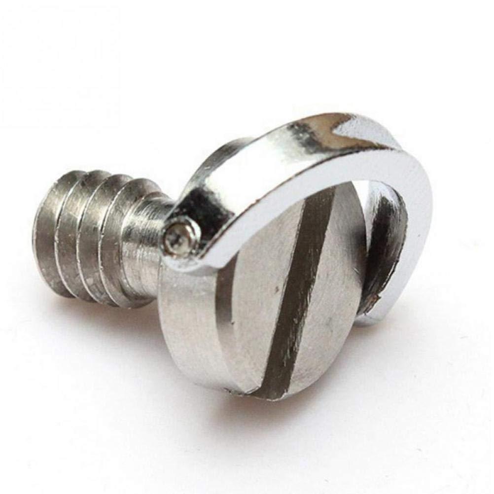 PiniceCore Tornillos de c/ámara de 1//4 Pulgada D-Ring Tornillo de Acero Inoxidable Tornillo de liberaci/ón r/ápida