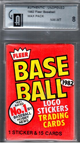 1987 Fleer GAI Graded Pack Baseball Cards