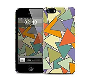 abstract triangles iPhone 5 / 5S protective case