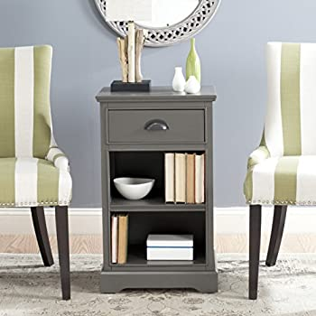 Safavieh American Home Collection Griffin Grey Side Table