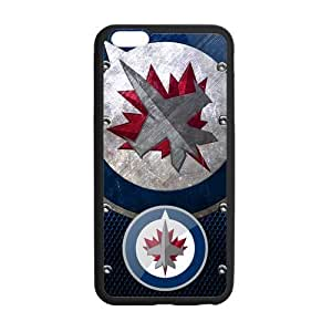 New Gift Winnipeg Jets Durable Case for Iphone 6 5.5 Snap On