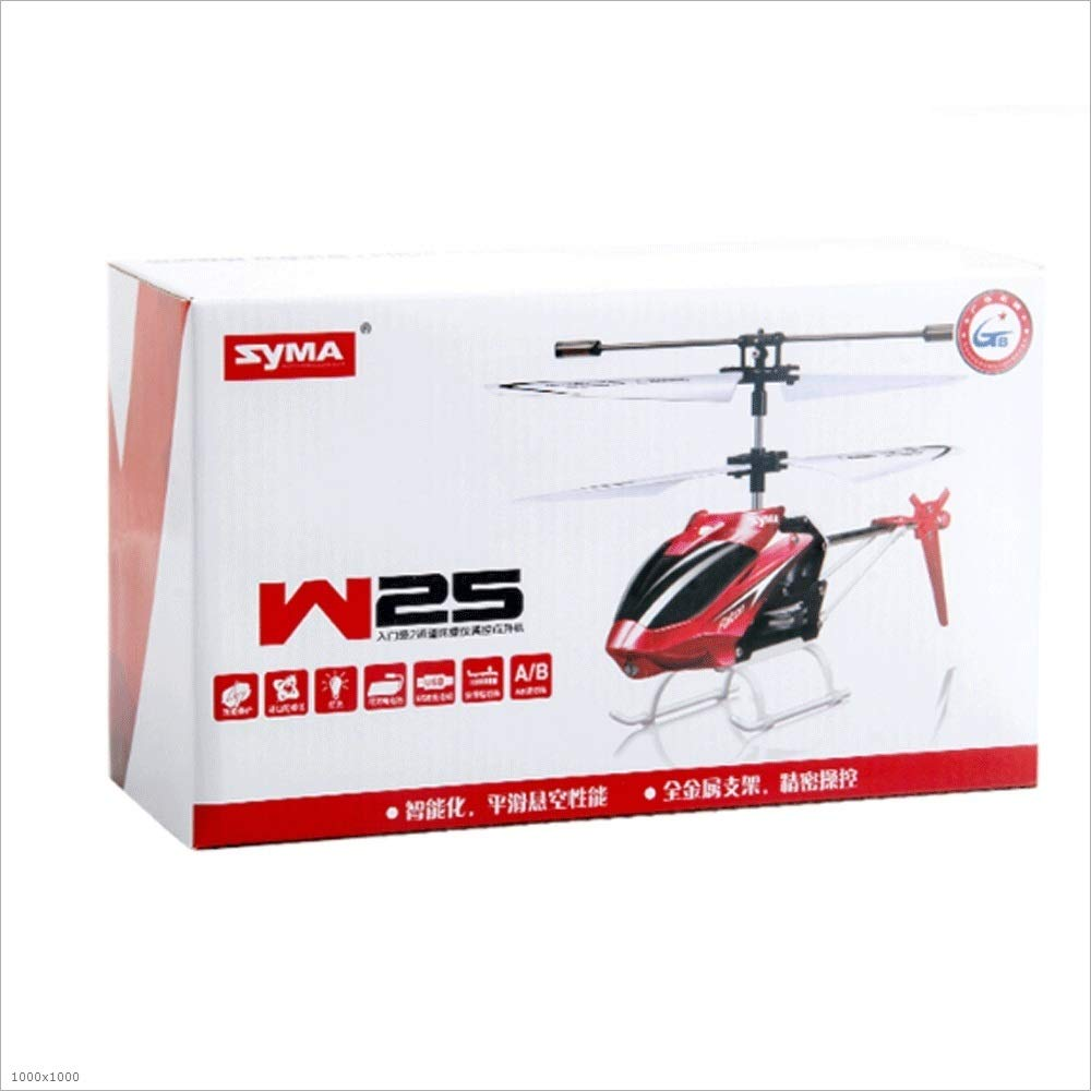 Zenghh RC Helicopter Drone Toy Multiplayer Game Alloy Frame Charging and LED Lights Children boy Remote Control Aircraft Indoor Outdoor Anti-roll Rocker Model gyro Mini Preferred Gift ( Color : Red )