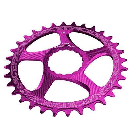 RaceFace Narrow Wide Cinch Direct Mount Chainring Purple, 32T by RaceFace