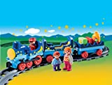 PLAYMOBIL 1.2.3 Night Train with Track