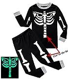 IF Pajamas Baby Boys Skeleton Halloween Pajamas Sets Long Sleeve Kids Toddler Pjs Size 18-24 Months Years