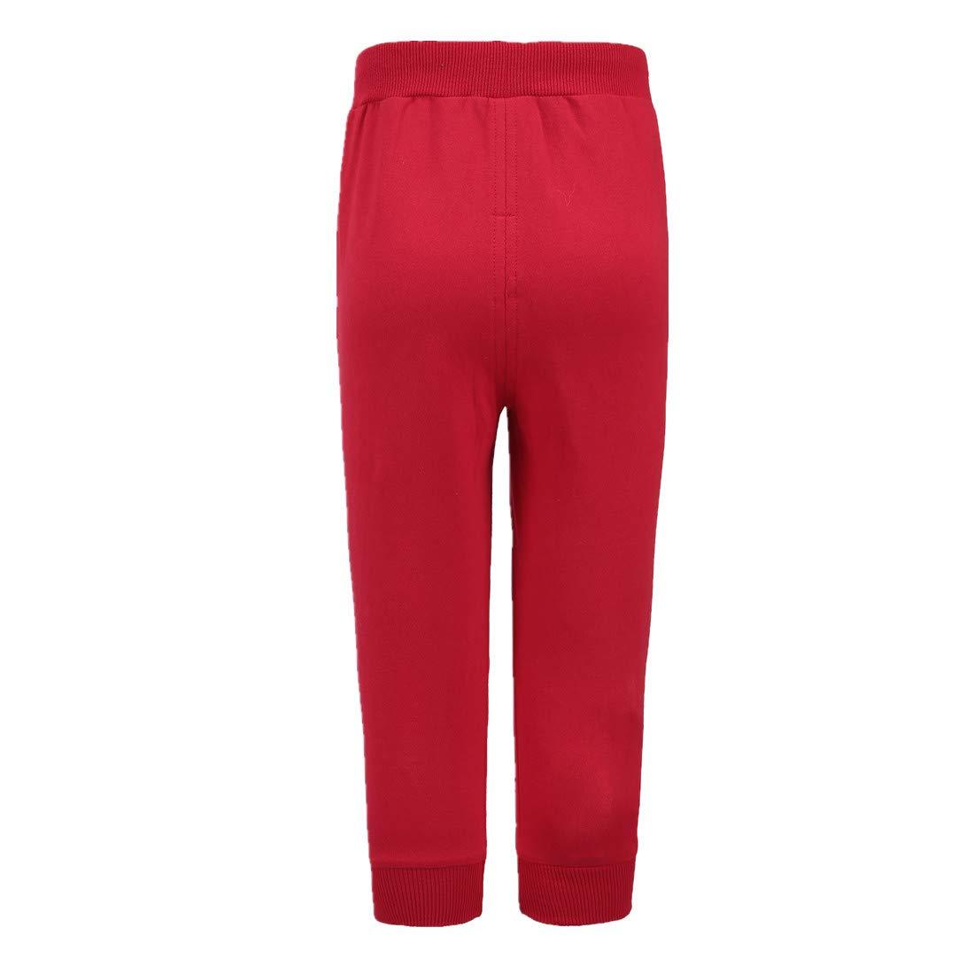 Sooxiwood Little Girls Pants Solid Pocket Sport