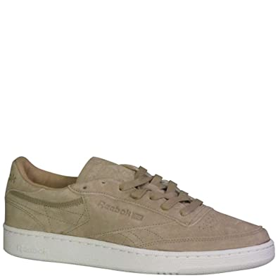 e9e8b921ee0 Reebok Men s Club C 85 LST Fashion Sneakers Oatmeal Driftwood White  Oatmeal Driftwood White 8 D(M) U  Buy Online at Low Prices in India -  Amazon.in