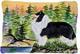 Caroline's Treasures SS8203PW1216 Collie Decorative Canvas Fabric Pillow, Large, Multicolor