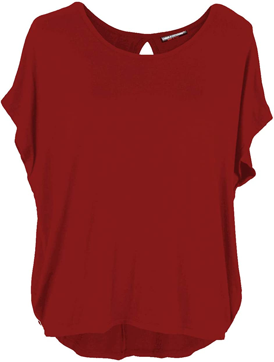 Made In Italy - Mujer Emma /& Giovanni Tshirt//Blusa