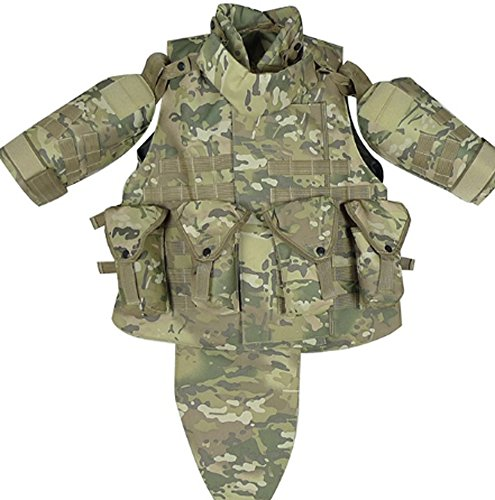 CC-JJ - OTV Tactical Vest Body Armor With (Aqualung Service Kit)