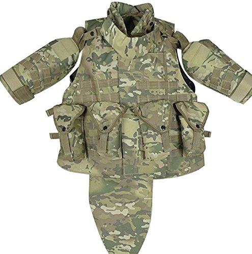 CC-JJ - OTV Tactical Vest Body Armor With Pouch