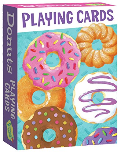 sorted Donuts Playing Card Deck of 52 Cards Plus 2 Jokers with Box ()
