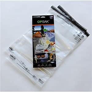 "LOKSAK Opsak Barrier OPD2-12 X 20, Inner Dimensions: 12.25""x 20"",2pk Storage Bags"