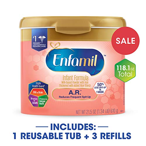 Enfamil A.R. Infant Formula - Clinically Proven to reduce Sp