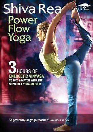 Amazon.com: Shiva Rea: Power Flow Yoga [DVD] [Region 1] [US ...