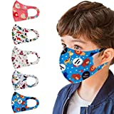3 Layer Cloth Face Covering For Kids - Washable