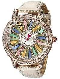 Betsey Johnson Women's BJ00563-01 Analog Display Quartz Rose Gold Watch