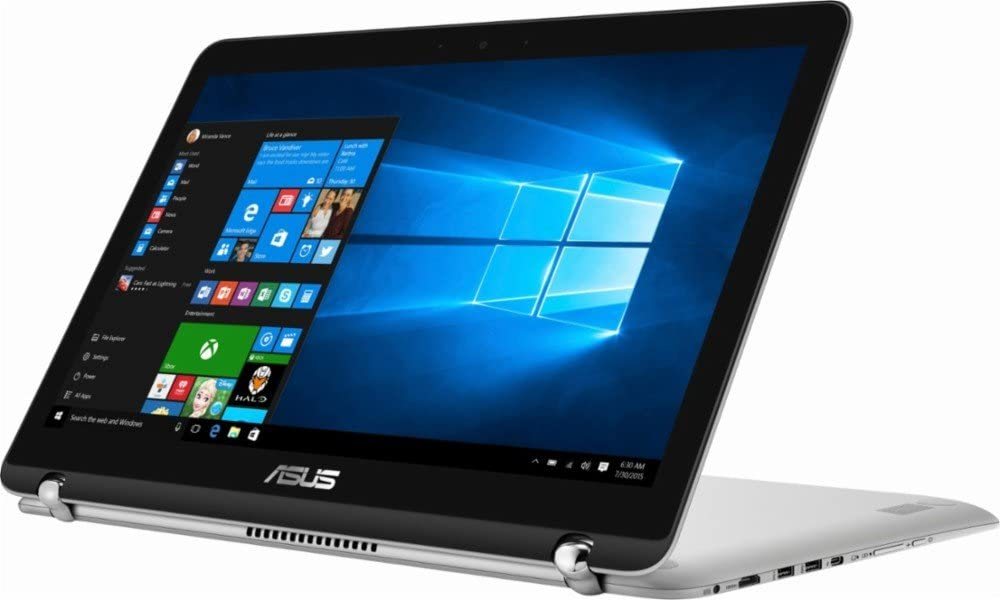 "2018 Flagship ASUS 15.6"" 2-in-1 Full HD Touchscreen Business Laptop, Intel Dual-Core i5-7200u, 16GB DDR4 512GB SSD, Backlit Keyboard Fingerprint Reader Windows Ink Capable Display USB Type-C Win 10"