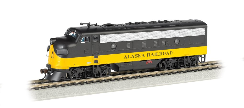 Bachmann Industrias f7-a DCC listo Diesel Ho escala Alaska locomotora