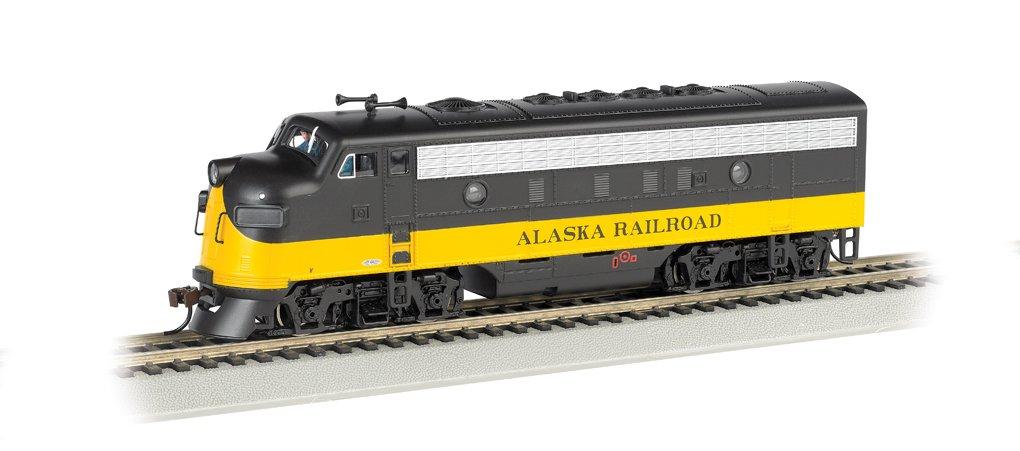 Bachmann Industries F7-A DCC Ready Diesel HO Scale Alaska Locomotive