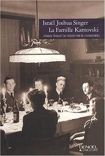 La famille Karnovski par Singer