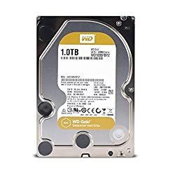 Wd Gold 1tb Enterprise Class Hard Disk Drive - 7200 Rpm Class Sata 6 Gbs 128mb Cache 3.5 Inch - Wd1005fbyz