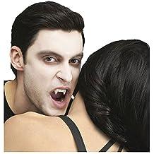 Halloween Prop True Horror Teeth-CUSTOM FIT VAMPIRE FANG-Blood Costume Accessory