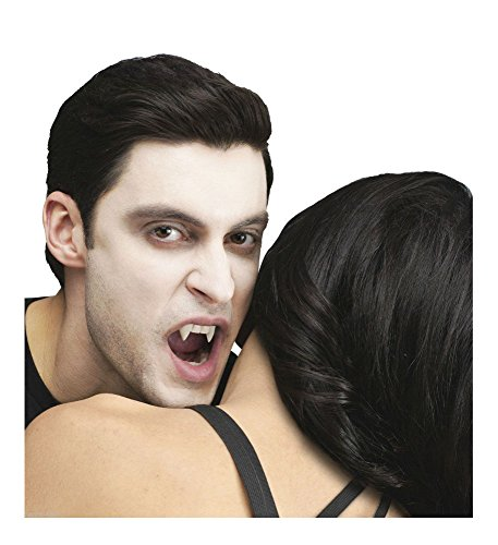 Most Common Halloween Costumes For Adults (Halloween Prop True Horror Teeth-CUSTOM FIT VAMPIRE FANG-Blood Costume Accessory)