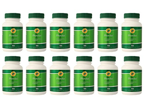 PhytoLax (12 for the Price of 11) by 4Life - 60 capsules / 12 Bottles by 4life
