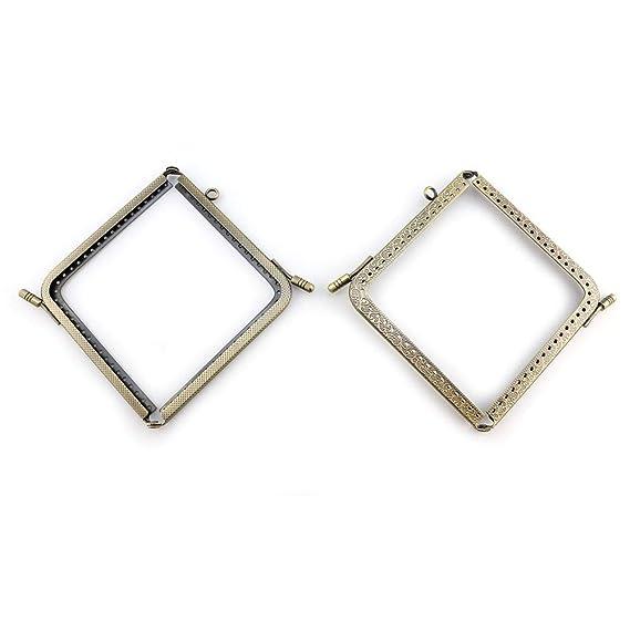 RUBY-2 piezas Boquillas para bolsos y monederos Boquilla ...