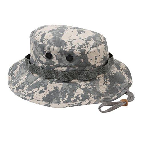 Rothco Rip Stop Boonie Hat, ACU Digital, 7.5