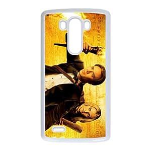 National Treasure LG G3 Cell Phone Case White mjn iqin