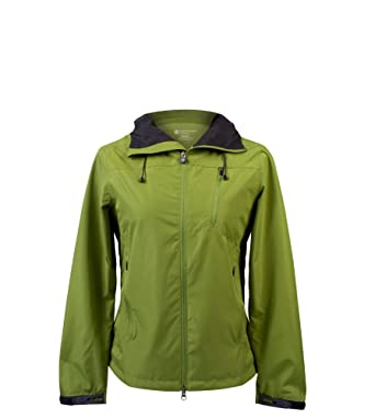 0b2800b37 Amazon.com: Women's Commuter Jacket EcoRepel All Weather Windbreaker  Raincoat (X-Large) Green: Clothing