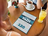Adult Mazes Puzzle Book - 120 Moderate to